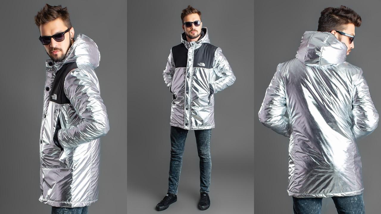 Стильная куртка мужская silver