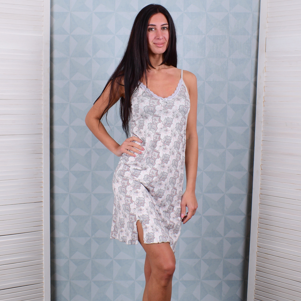 6819958393e Женская ночная рубашка Турция Pink Secret 4688 XXL. Размер 50-52 ...