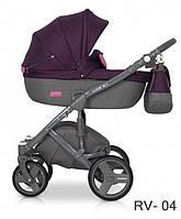 Универсальная коляска Riko Vario - 04 - purple