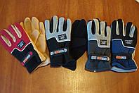 Зимние перчатки/велоперчатки зимние на флисе