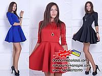 Жіноче плаття Неопрен Три кольори!, фото 1