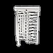 Полноростовой однопроходной турникет ZKTeco FHT2300, фото 3