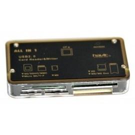 Картридер HAVIT HV-C25 black/gold