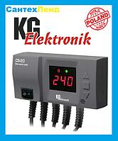 Блок управления KG Elektronik CS-20 (для ЦО и вентилятора)