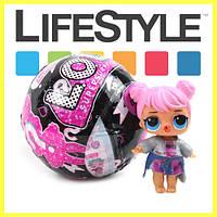 Кукла ЛОЛ сюрприз в шаре. Игровой набор L.O.L. Black Edition