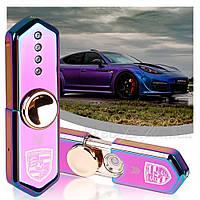 Зажигалка подарочная USB сувенирная Porsche 33222p, фото 1