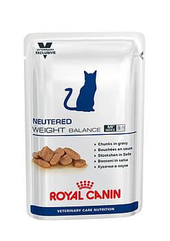Влажный корм Royal Canin (Роял Канин) Neutered Cat Weight Balance для стер-х кошек, 100х12 шт