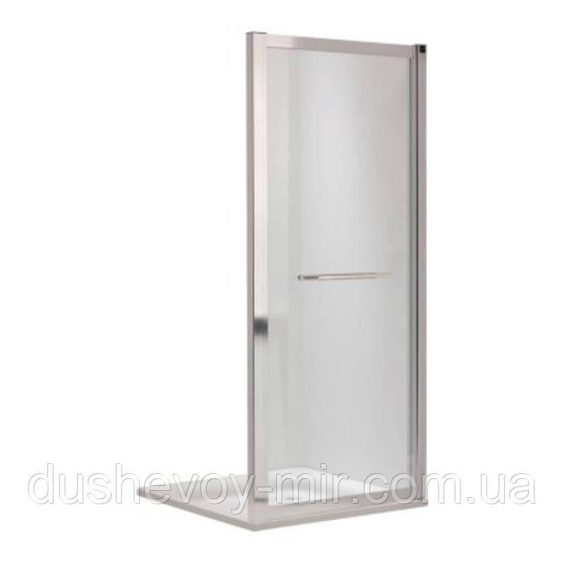 KOLO GEO 6 боковая стенка 90 см, для комплектации с раздвижными дверями Pilot и Bifold серебряный блеск GSKS90222003