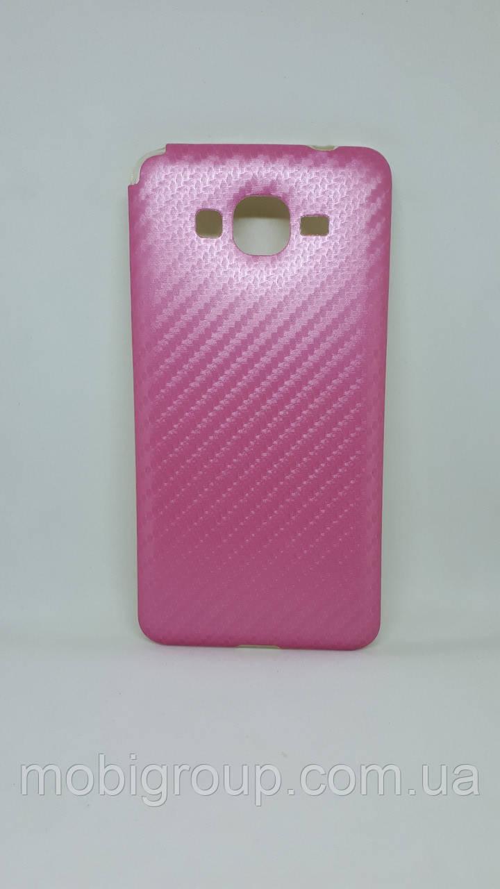 """Силиконовый чехол """"Карбон"""" для Samsung G530"""