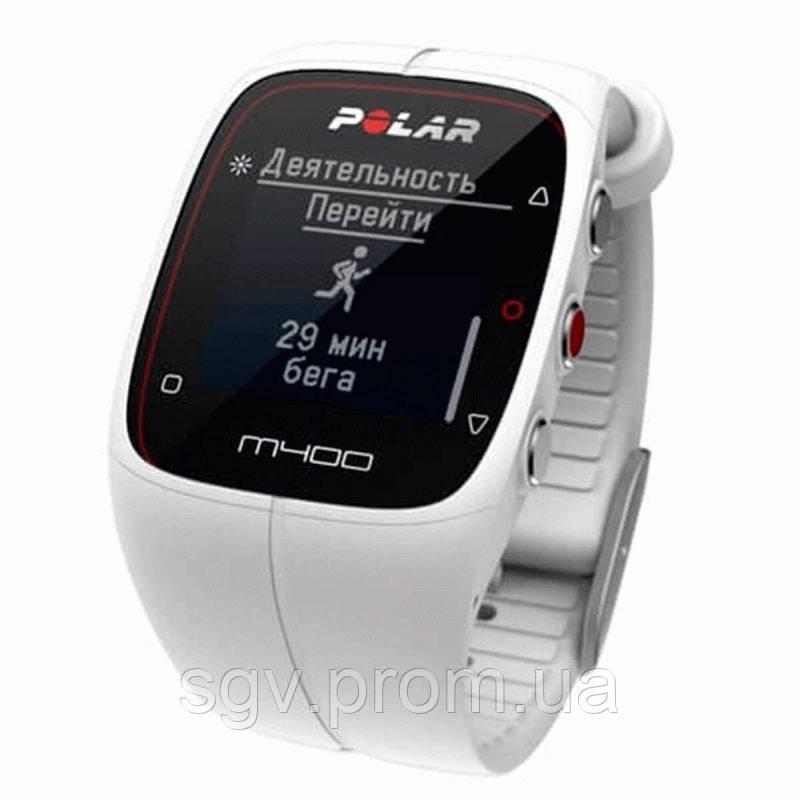 Спортивные часы Polar M400 HR White