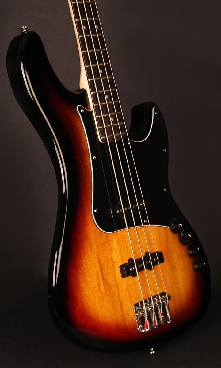 Бас-гітара CORT GB34JJ (3 Tone Sunburst)