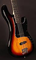 Бас-гітара CORT GB34JJ (3 Tone Sunburst), фото 1