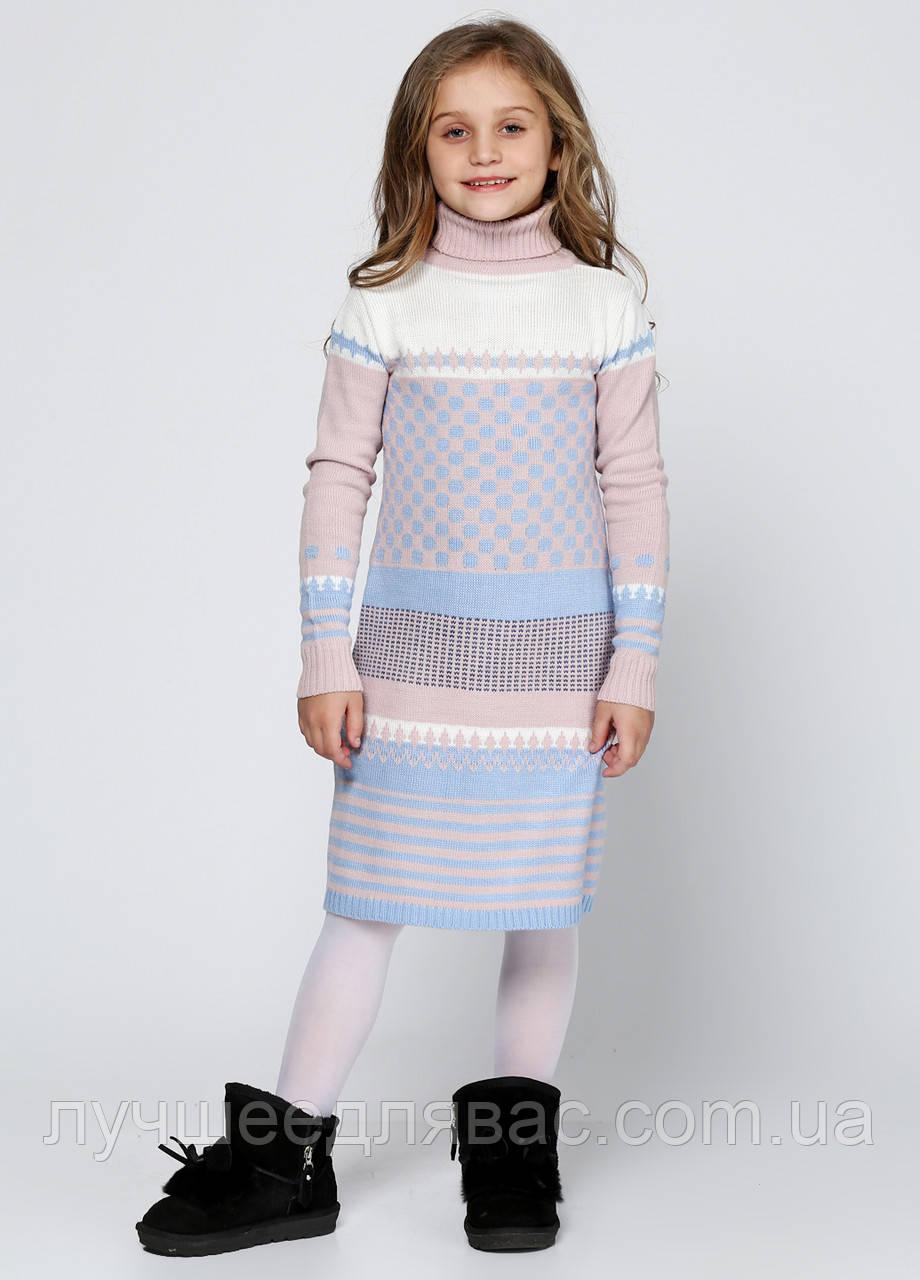 Платье  для девочек зимнее, фото 1