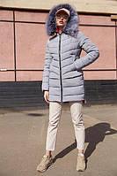 Женская зимняя куртка Лесли, р-ры 42 - 54, ТМ NUI VERY, Украина , фото 1