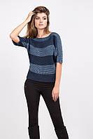 Элегантный женский свитер джемпер с укороченным рукавом, фото 1