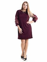 Женское платье Irvik M29B бордовый, фото 1