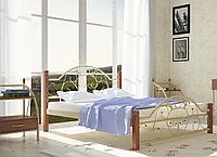 """Кровать металлическая на деревянных ногах """"Франческа"""", фото 1"""