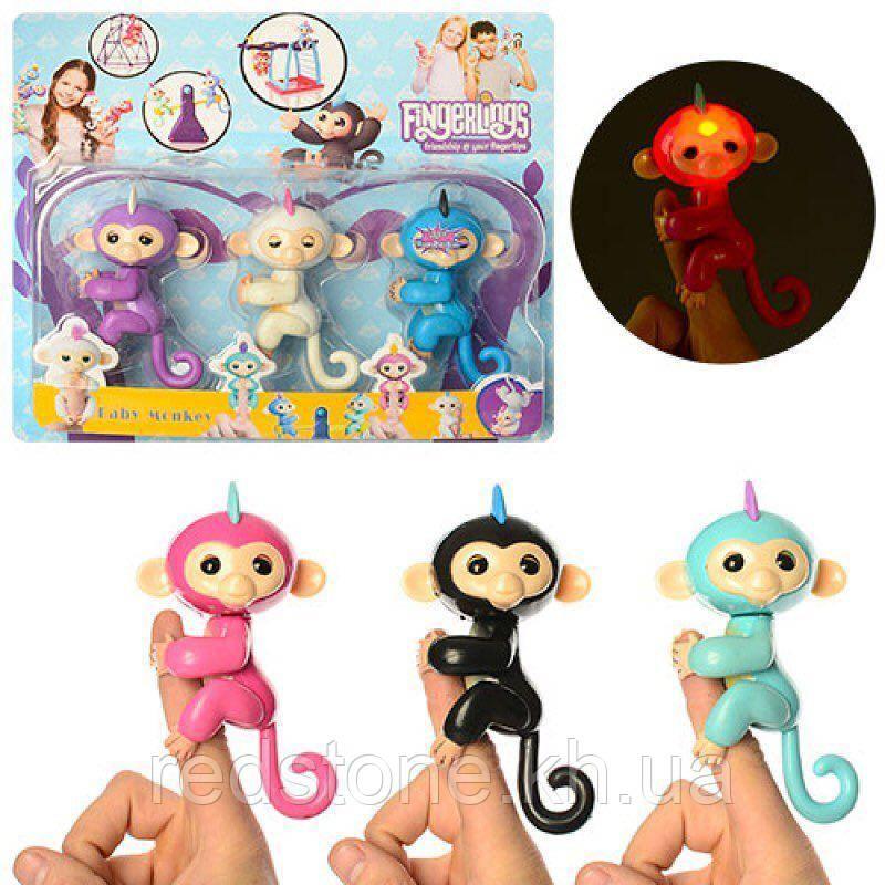 Набір Fingerling Monkey 3шт. (світло, звук)
