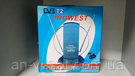 Кімнатна антена c підсилювачем DVB-Т2 PROWEST 3.0119