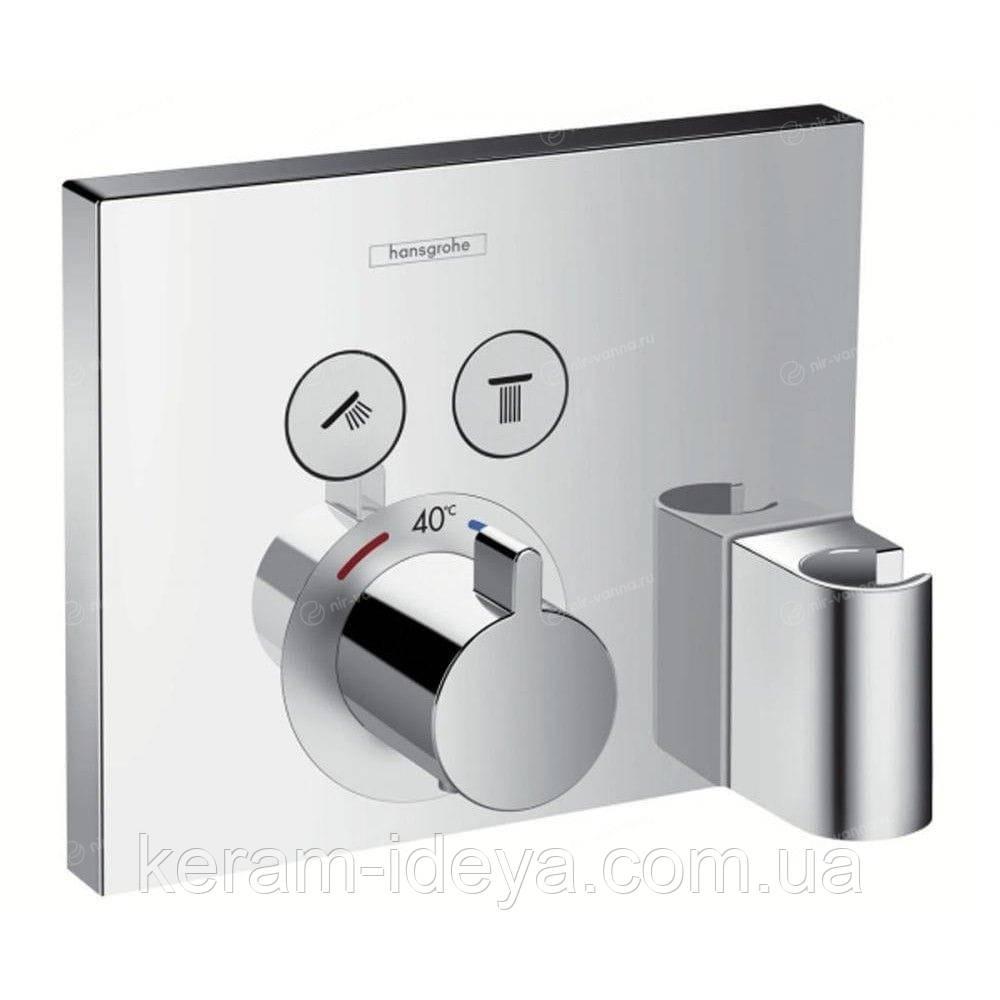 Смеситель термостат Hansgrohe Ecoplast Selekt 15765000