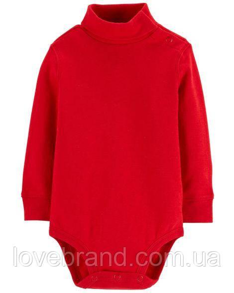 Красный гольф-боди OshKosh (США) для мальчика 9 мес/67-72 см