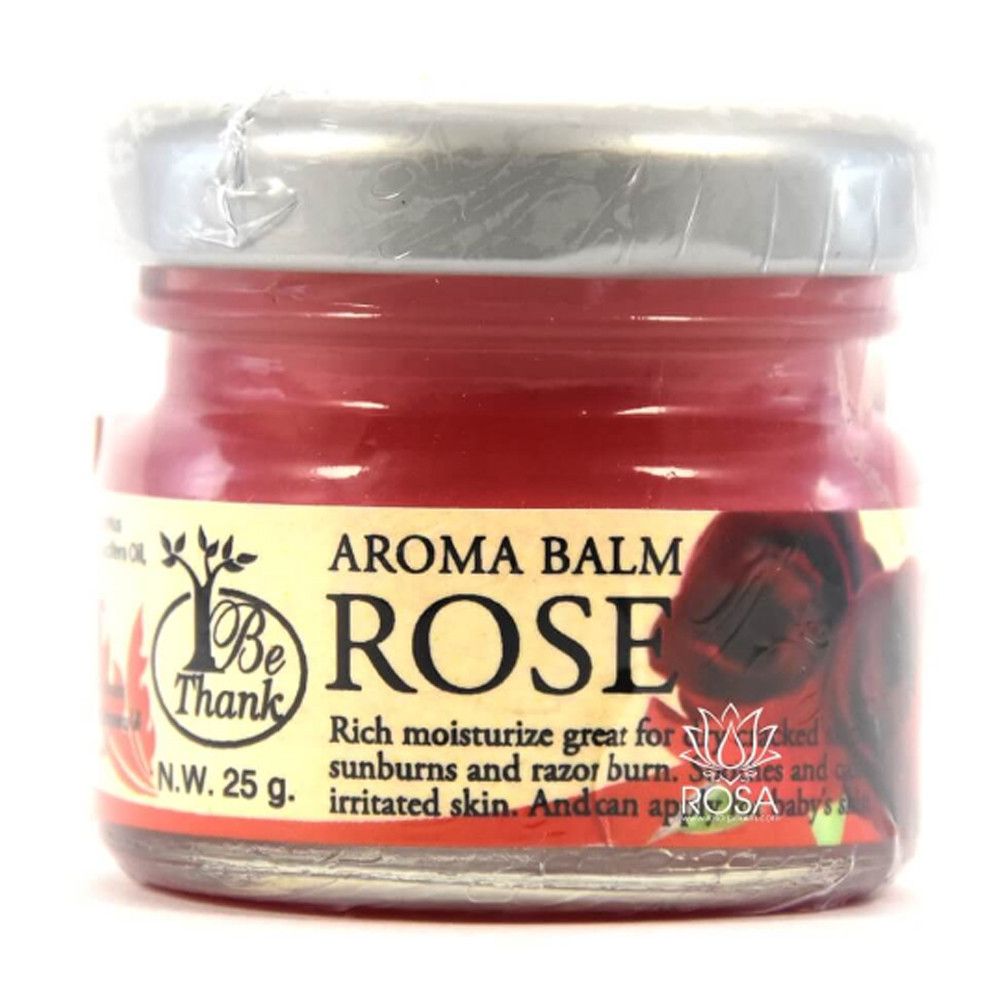 Цветочный бальзам для массажа и ухода за кожей Роза (Aroma Balm Rose, Be Thank)