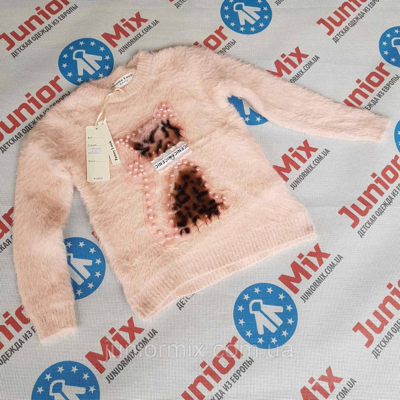 Детские ангоровые кофты для девочек оптом Fanny Look