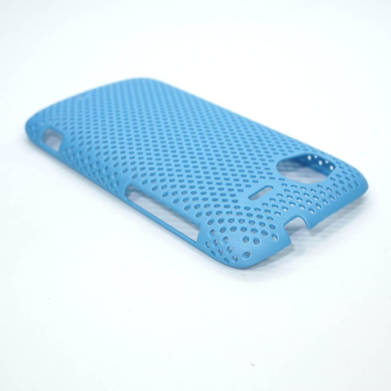 Чехол сетка HTC Sensation light-blue Для телефона Голубой