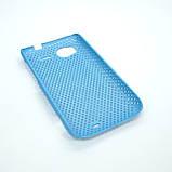 Чехол сетка HTC Sensation light-blue, фото 4