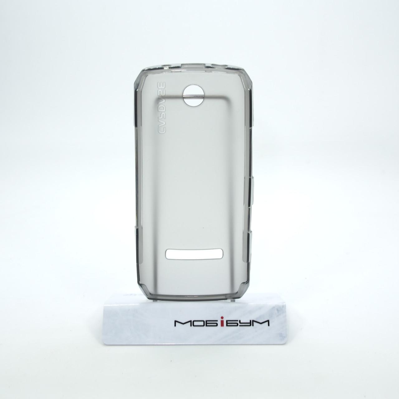 Чехлы для Nokia Capdase Soft Jacket Xpose Asha 305 306 Tinted black Для телефона