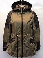 Женская весенне-осенняя куртка парка (демисезонная)