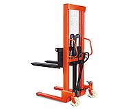 Штабелер ручной гидравлический Niuli CTY-E грузоподъемность 1,5 тн, высота подъема 1,6 м