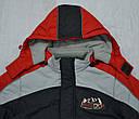Куртка зимняя для мальчика Енот красная  (QuadriFoglio, Польша), фото 2