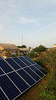 Сетевая солнечная электростанция 29,37 кВт г.Барышевка Киевская область 2