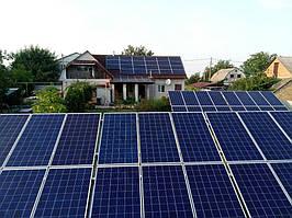 Сетевая солнечная электростанция 29,37 кВт г.Барышевка Киевская область 3