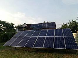Сетевая солнечная электростанция 29,37 кВт г.Барышевка Киевская область 4