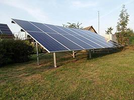 Сетевая солнечная электростанция 29,37 кВт г.Барышевка Киевская область 5