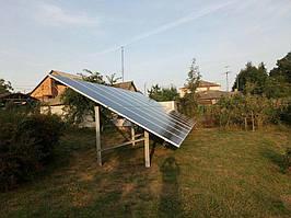 Сетевая солнечная электростанция 29,37 кВт г.Барышевка Киевская область 6