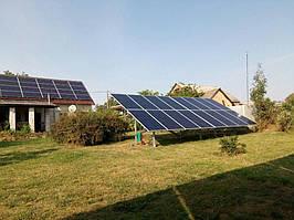 Сетевая солнечная электростанция 29,37 кВт г.Барышевка Киевская область 8