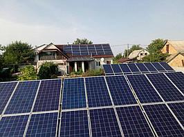 Сетевая солнечная электростанция 29,37 кВт г.Барышевка Киевская область 13