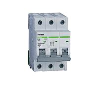 Автоматический выключатель Noark Ex9BN 3P C6