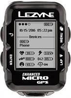 LEZYNE велокомпьютер Micro GPS-Черный (LZN-1-GPS-MICRO-V104)