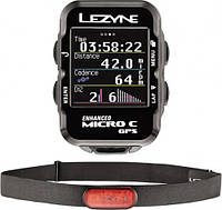 LEZYNE Велокомпьютер Micro Color GPS HR Loaded (LZN-1-GPS-MICROC-V104-HR)