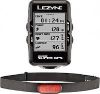 LEZYNE Велокомпьютер Супер GPS HR Loaded (LZN-1-GPS-SPR-V204-HR)