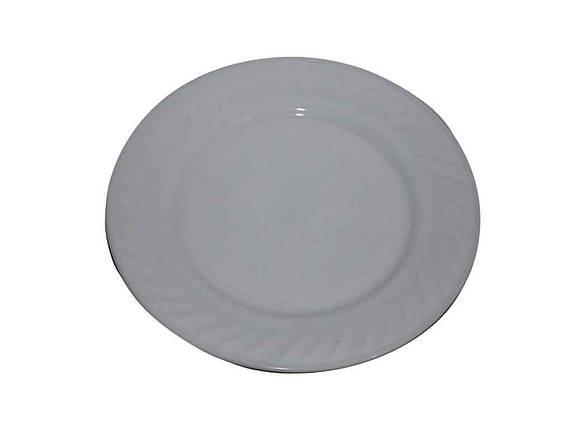 """Тарелка мелкая стеклокерамика d=180 мм White в упаковке 6 шт """"Lumines"""", фото 2"""
