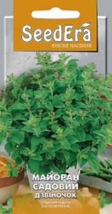 Пряно-ароматическая культура Майоран садовый Колокольчик Seedera, 0,1 г, фото 2