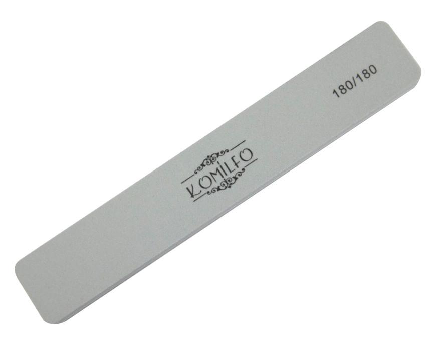 Шліфувальник Komilfo прямокутний сірий 180/180