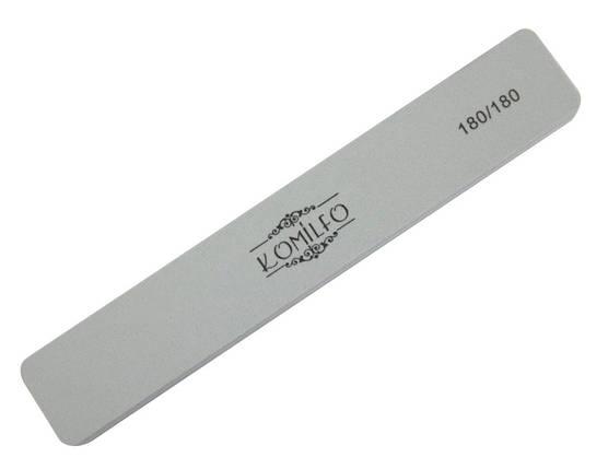 Шліфувальник Komilfo прямокутний сірий 180/180, фото 2