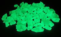 Светящиеся камни из пластика (мраморная крошка) Нокстон, люминесценция до 12 часов – 1  кг