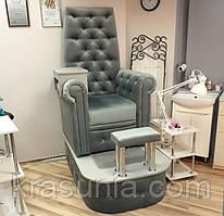 Педикюрное кресло Трон Queen velours